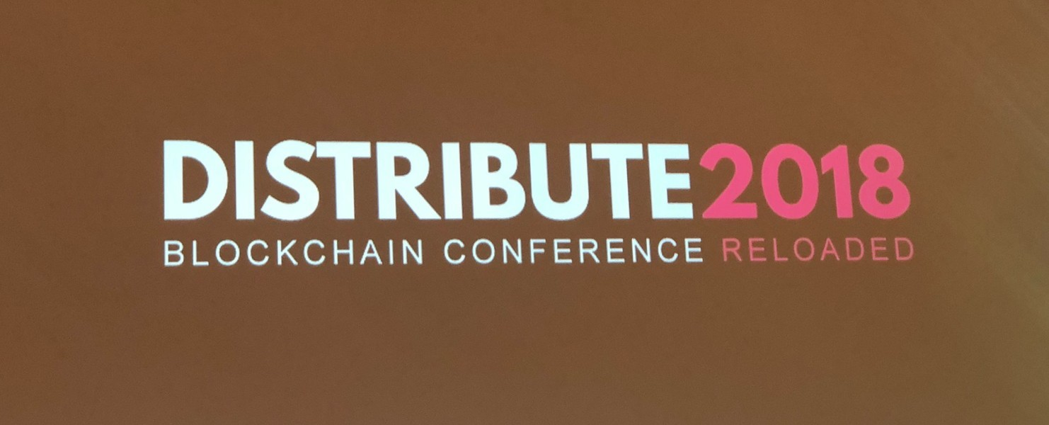 Blockchain conference Distribute 2018